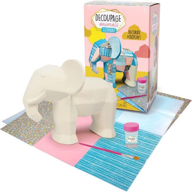 Decoupage Animals, Elephant