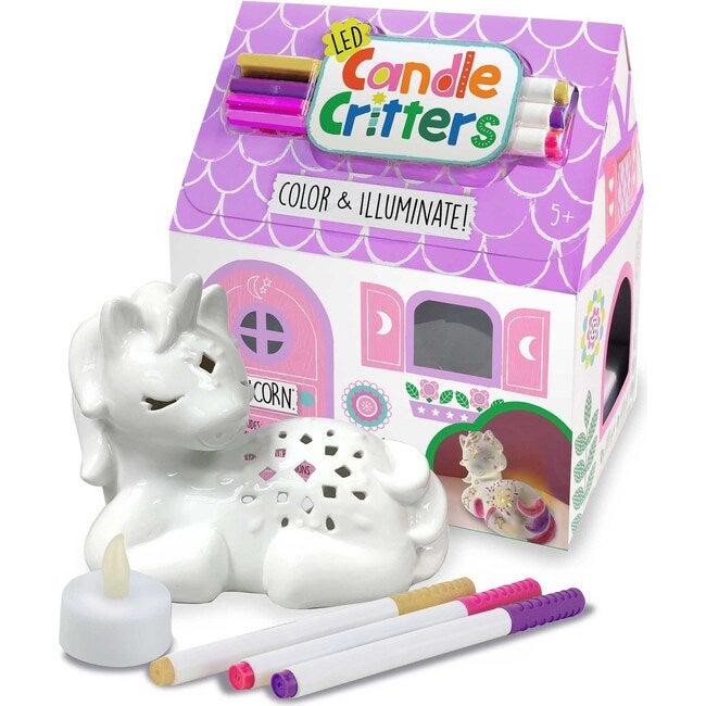 LED Candle Critters, Unicorn