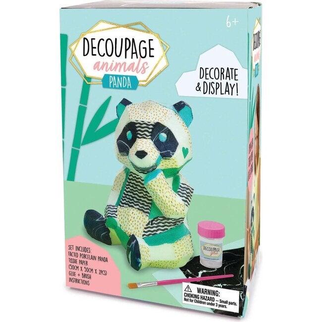Decoupage Animals, Panda