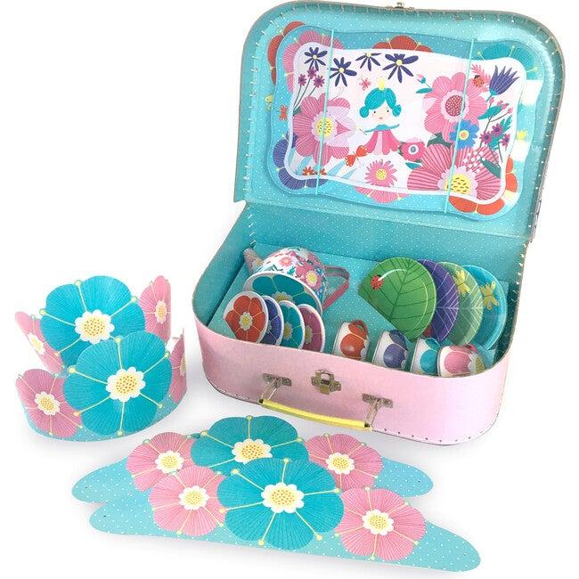 Flower Fairy Tin Tea Set