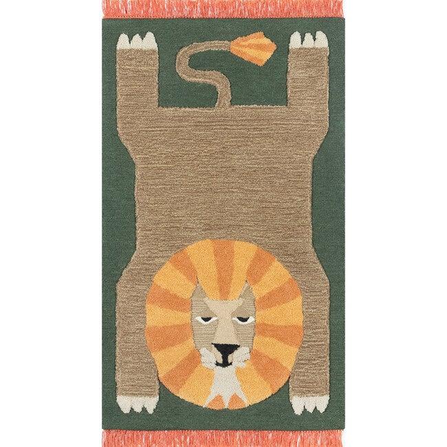 Atticus Leon Hand-Tufted Wool Rug, Green