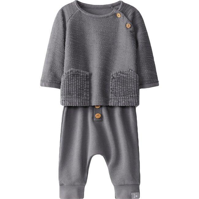 Knit Set, Grey