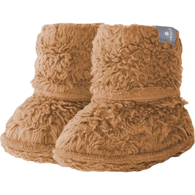 Fuzzy Boots, Chestnut