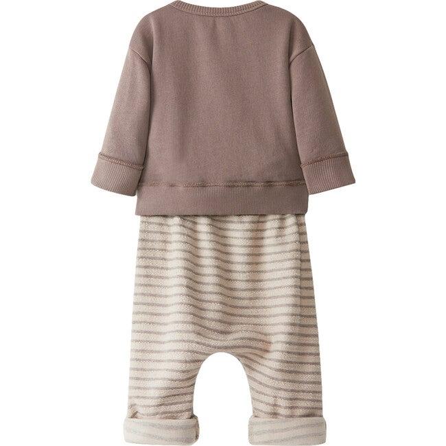 Knit Set, Brown