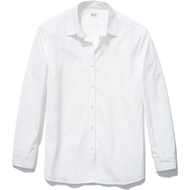 Women's Hutton Oversized Shirt, White