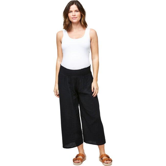 Women's Elliott Cotton Gauze Pant, Black