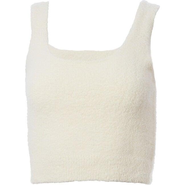 Women's Wonda Tank, Ivory - Loungewear - 1
