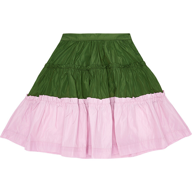Upper Crust Skirt,  Perrier Green & Lilac-Ly