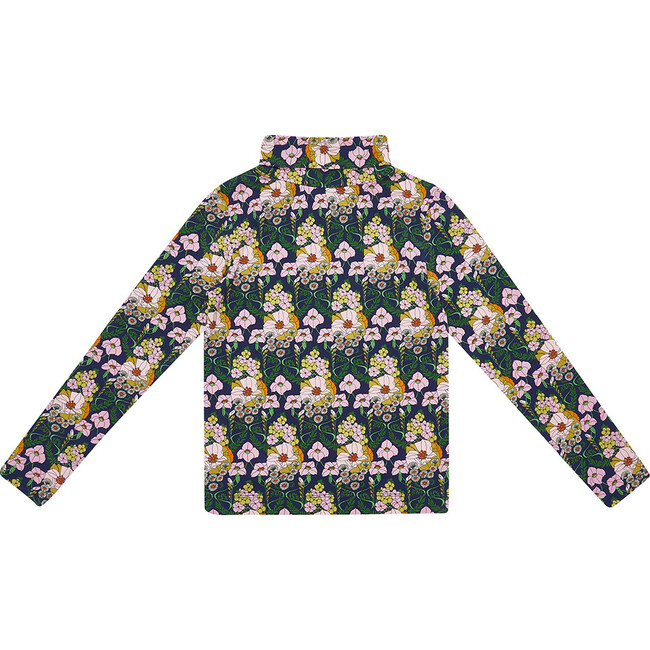 On A Roll Turtleneck,  Far-Out Floral