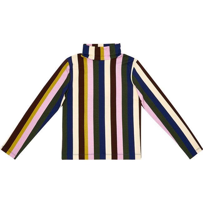 On A Roll Turtleneck,  Multi-Stripe