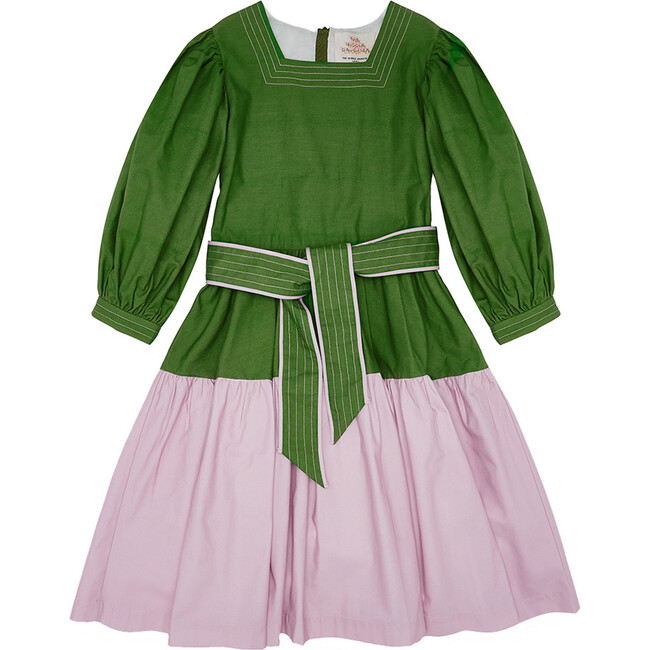Intents  & Purposes Dress,  Perrier Green & Lilac-Ly
