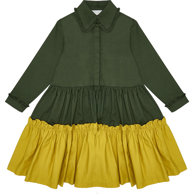 Apple Pie Dress,  Cavelo Nero & Chartreuse