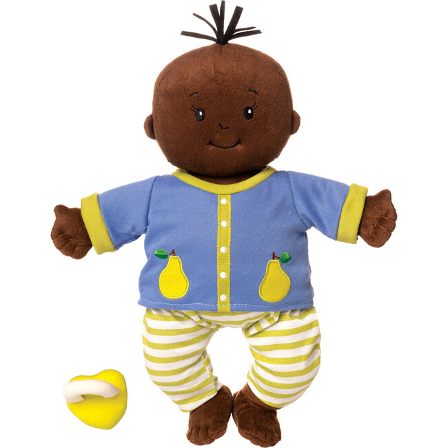 Baby Stella Doll, Brown with Black Hair