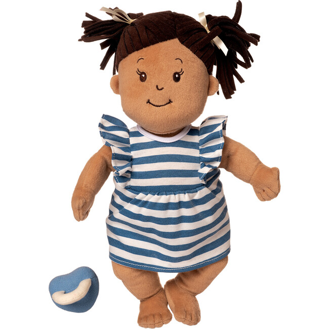 Baby Stella Doll Beige with Brown Pigtail