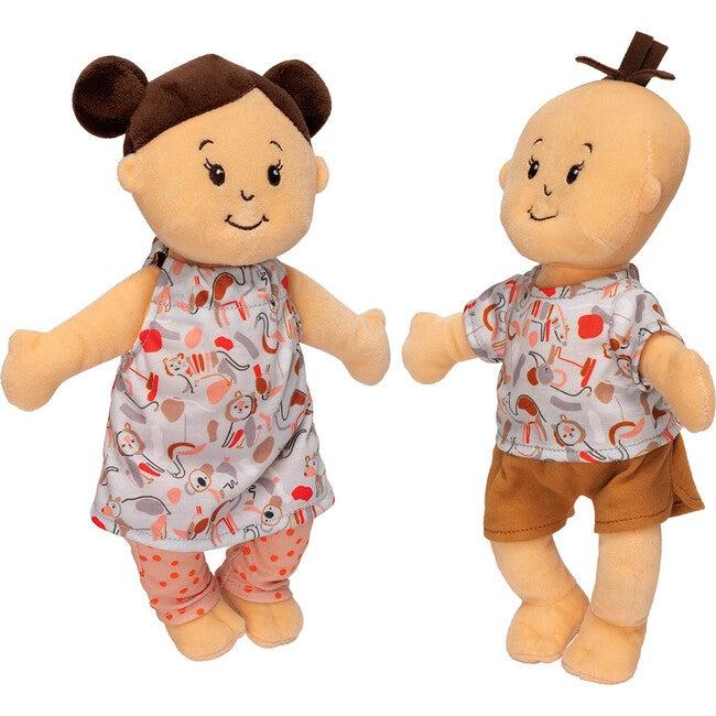 Wee Baby Stella Twins Peach - Dolls - 1