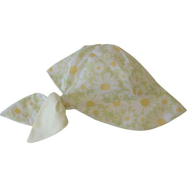 Sun Bonnet, Daisies Mint - Hats - 1