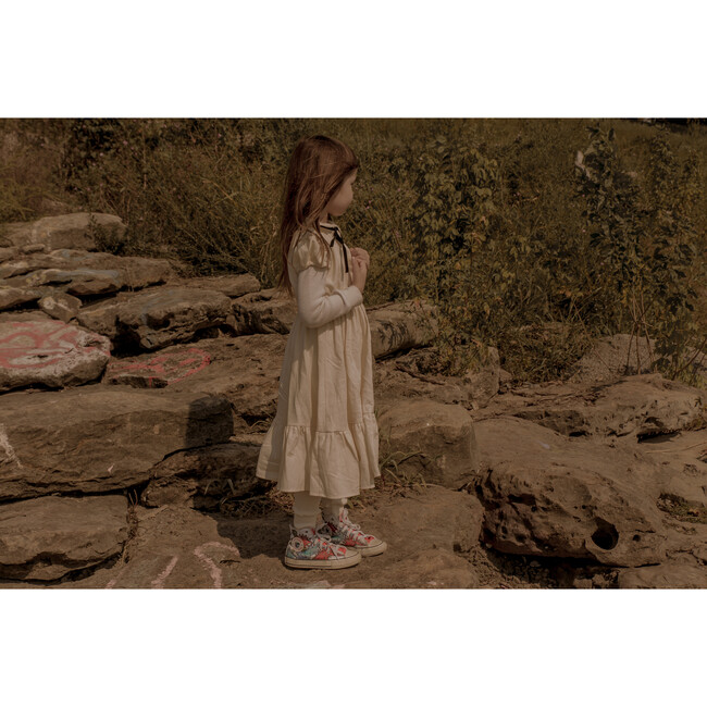 The Frilly Dress, Natural