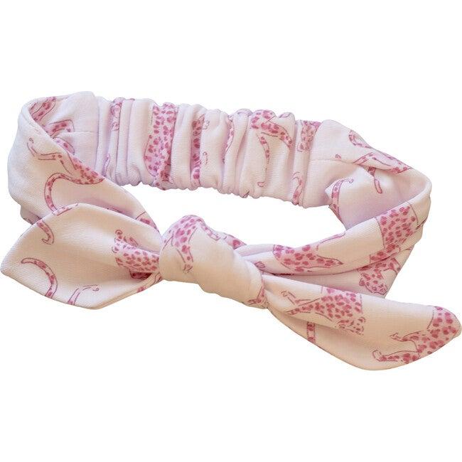 Pink Cheetah Headband