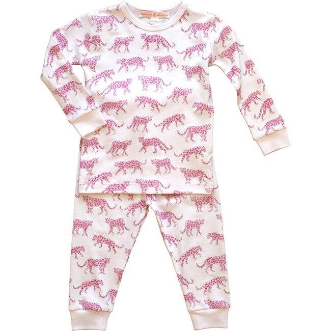 Pink Cheetah Pajama Set