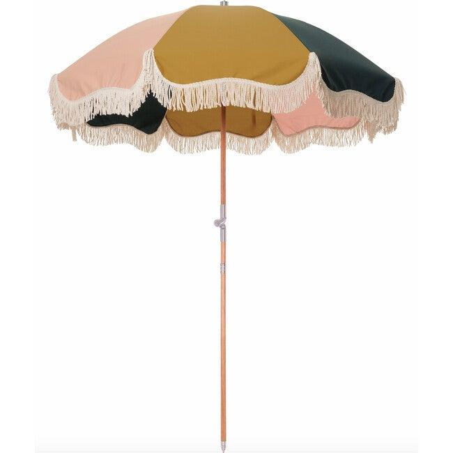Premium Beach Umbrella, 70's Panel Cinque