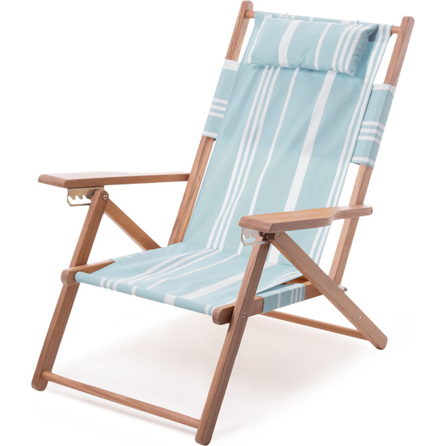 The Tommy Chair, Vintage Blue Stripe
