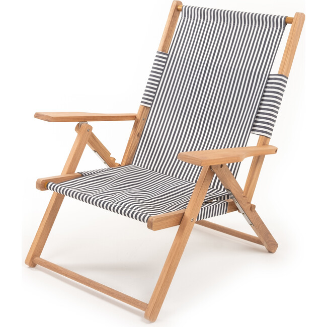 The Tommy Chair, Lauren's Navy Stripe