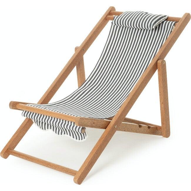 Mini Sling Chair, Lauren's Navy Stripe