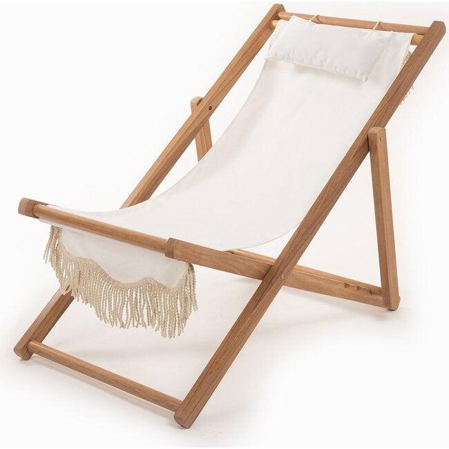 Premium Sling Chair, Antique White