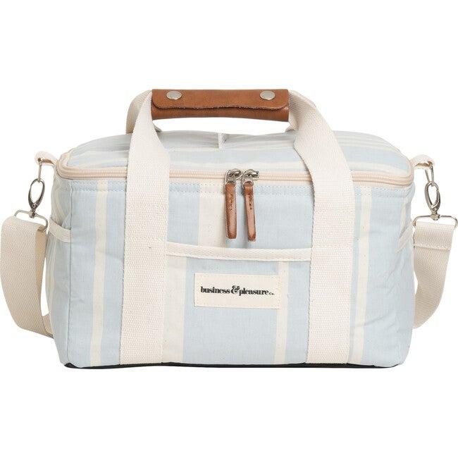 Premium Cooler, Vintage Blue Stripe