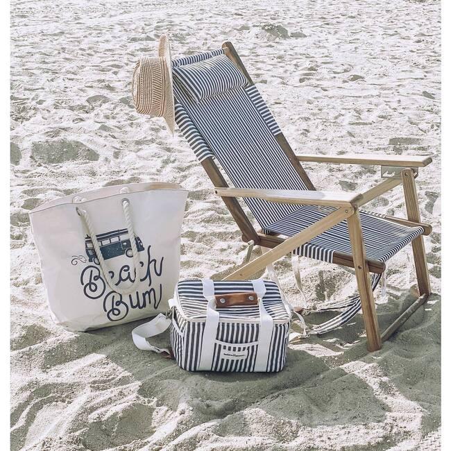 Premium Cooler, Lauren's Navy Stripe
