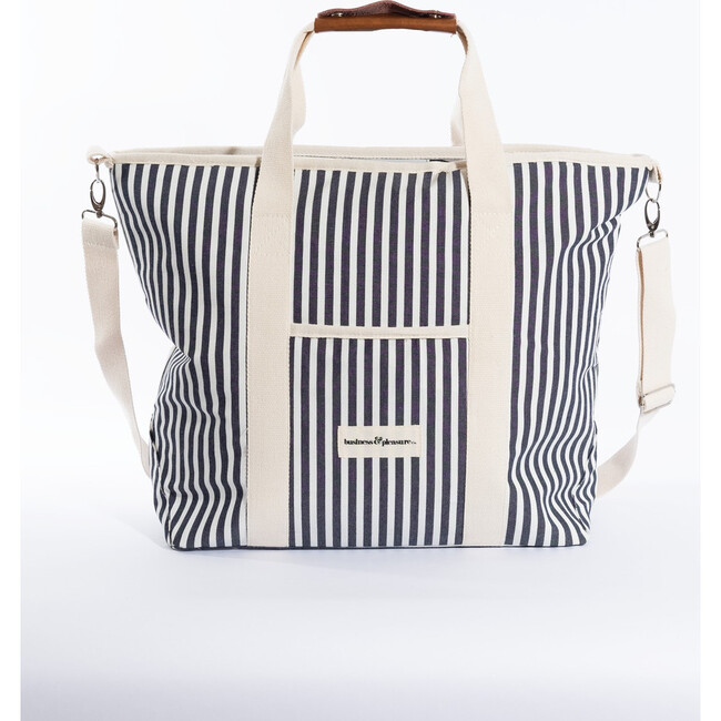 Cooler Tote Bag, Lauren's Navy Stripe