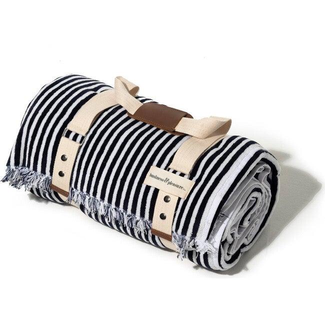 The Beach Blanket, Lauren's Navy Stripe