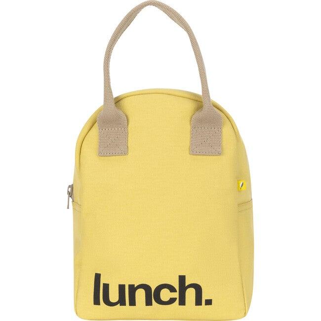 Zipper Lunch, Yellow - Lunchbags - 1