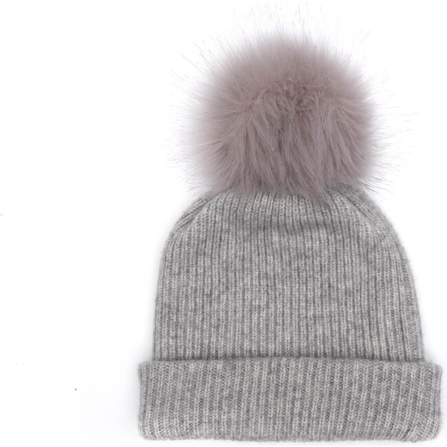 Women's Maddox Hat, Light Gray - Hats - 1