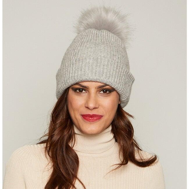 Women's Maddox Hat, Light Gray