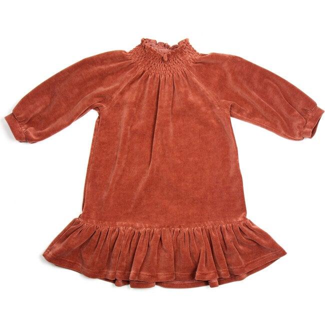 Nova Velvet Dress, Rosewood
