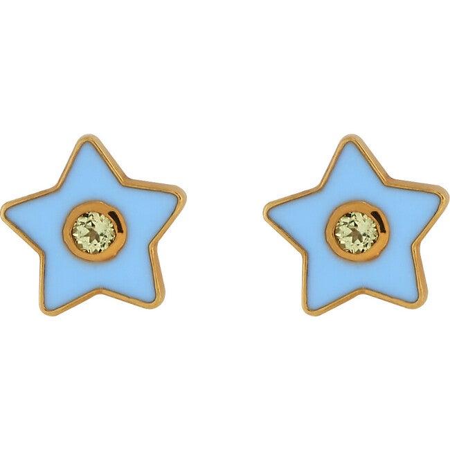 Enamel Star Stud