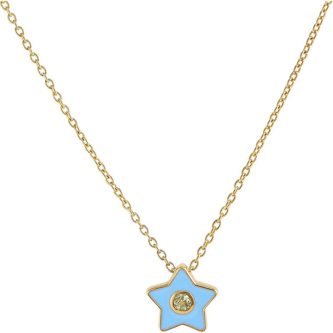 Enamel Star Necklace