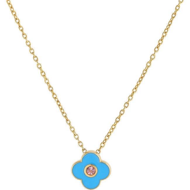 Enamel Clover Necklace
