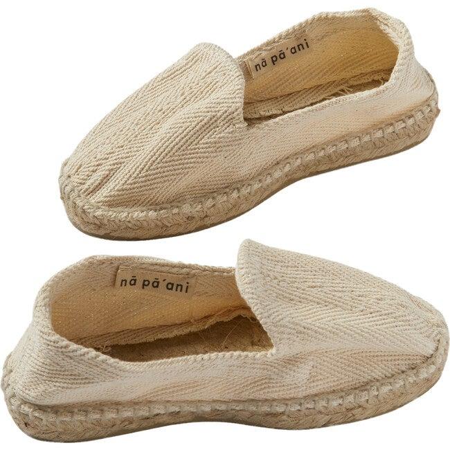 Alpargata Beach Shoes, Natural Jute
