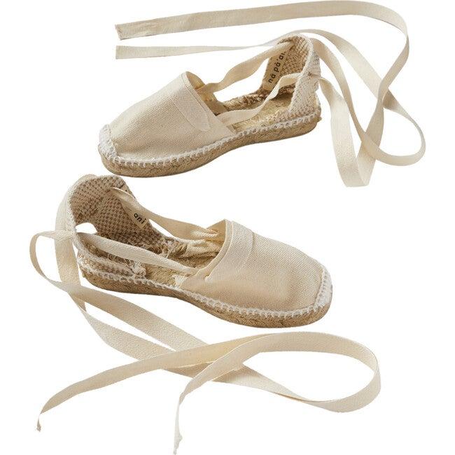 Strings Alpargata Beach Shoes, Natural Jute