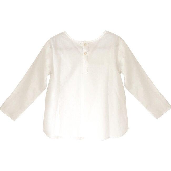 Nico Shirt, White Poplin