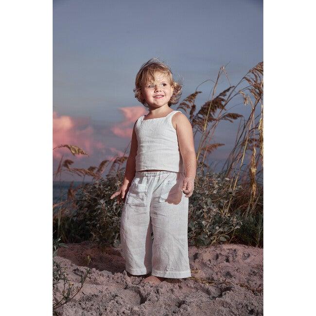 India Blouse, Linen White