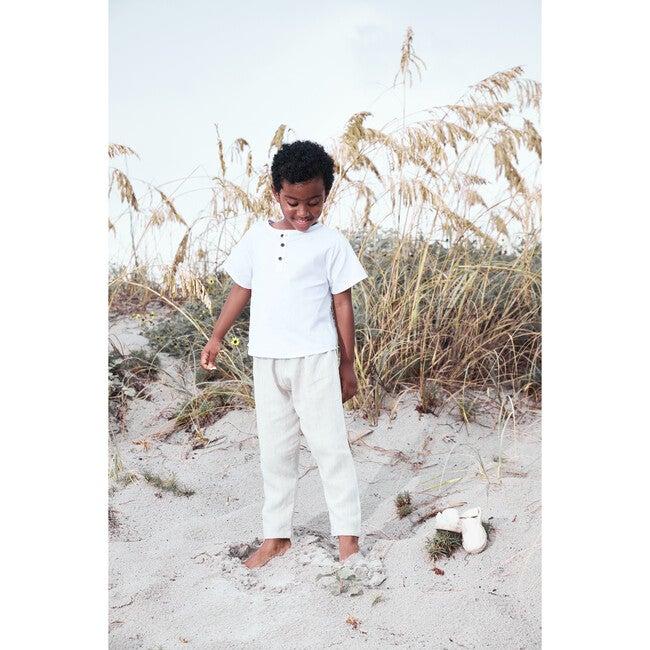Arturo Shirt, Poplin White