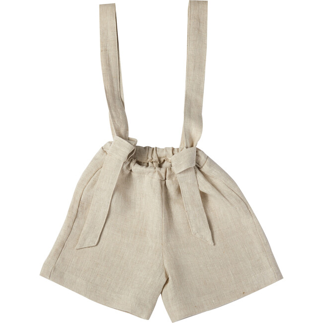Diego Shorts, Linen Natural