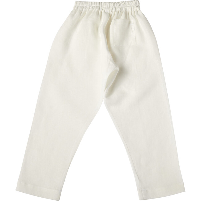 Pelayo Pants, Linen White