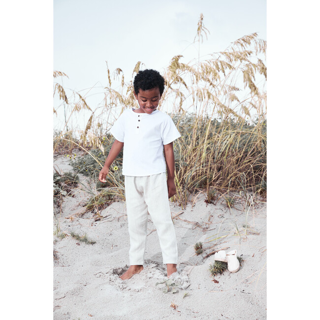 Pelayo Pants, Linen Natural