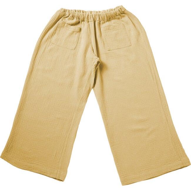 Adri Bell Pants, Gauze Straw