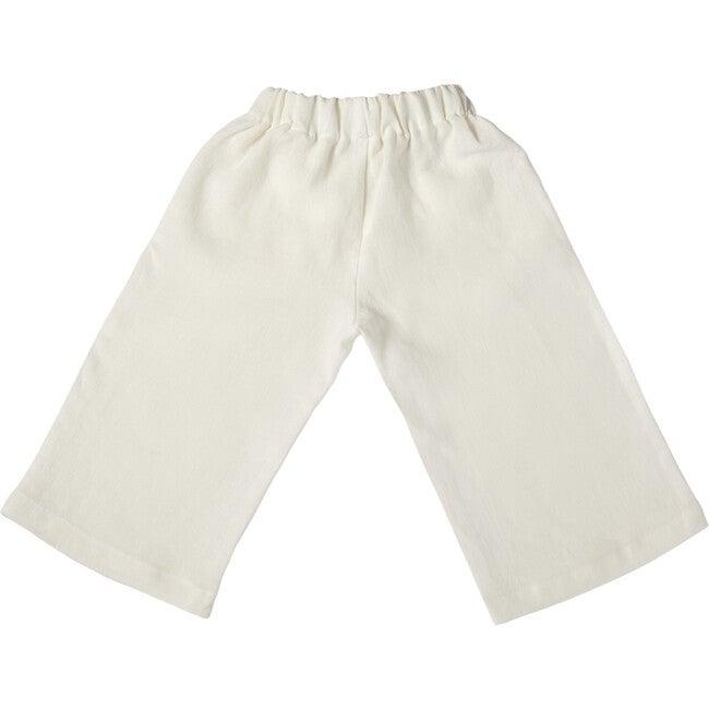 Adri Bell Pants, Linen White