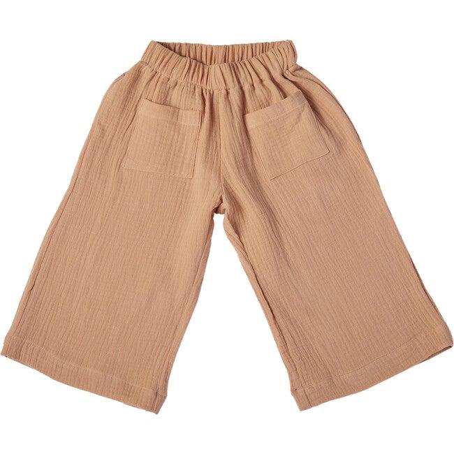 Adri Bell Pants, Gauze Peach